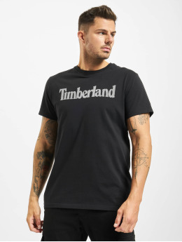 Timberland Camiseta Ss Elevated Linear negro