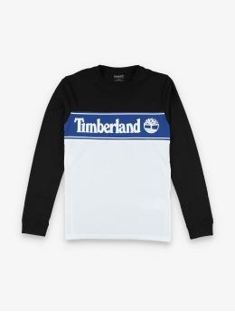 Timberland Maglietta a manica lunga Ss Cut & Sew Lin Logo  nero