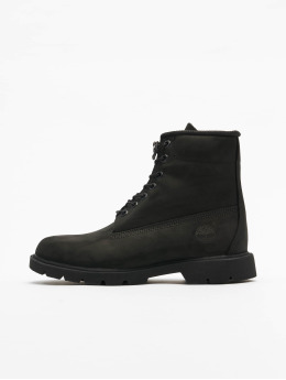 Timberland Støvler 6 In Basic Non-contrast Collar WP sort