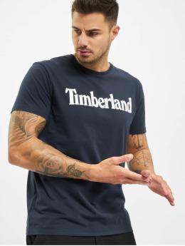 Timberland T-paidat Ss Kr Linear Regular sininen