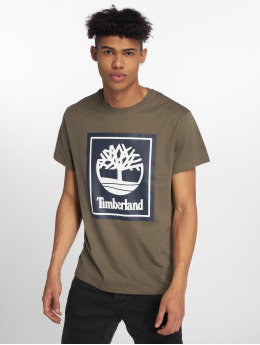 Timberland T-paidat Ycc Logo vihreä