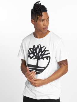 Timberland T-shirt SLS Seasonal Logo bianco