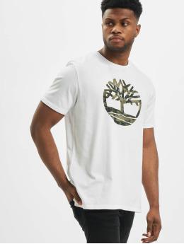 Timberland T-Shirt K-R Camo Tree blanc