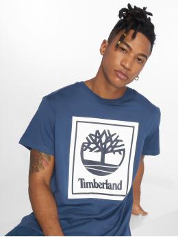 Timberland T-Shirt Ycc Logo blau