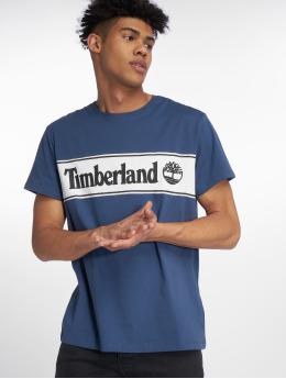 Timberland t-shirt YCC Cut Sew blauw