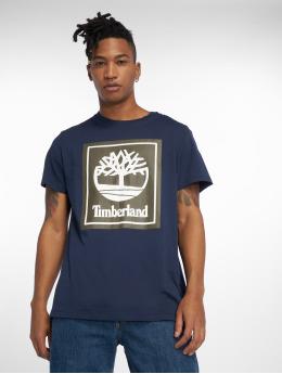 Timberland t-shirt Ycc Logo blauw