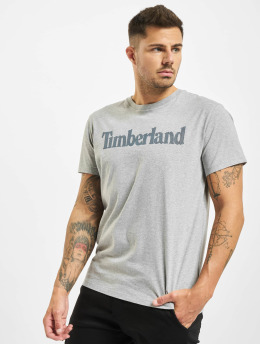 Timberland T-Shirt Ss Elevated Linear grau