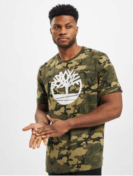 Timberland T-Shirt K-R Aop Camo grau
