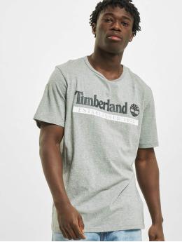 Timberland T-Shirt Ss Estab 1973 grau