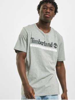 Timberland T-Shirt Ss Estab 1973 gray