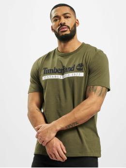 Timberland T-Shirt SS Estab 1973 green