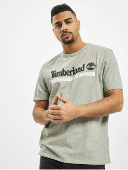 Timberland T-Shirt SS Estab 1973 grey