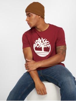 Timberland T-Shirt Brand Tree Regular rouge