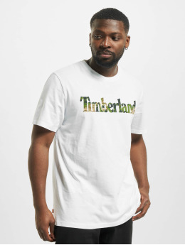 Timberland T-Shirt Ft Linear weiß