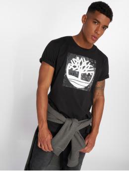 Timberland t-shirt SSNL Pattern zwart