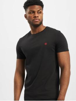 Timberland t-shirt Dun-River  zwart