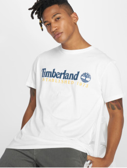 Timberland T-shirts Ycc Elements hvid
