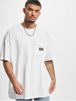 Timberland T-Shirty YC Graphic bialy