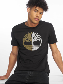 Timberland T-Shirty Large Silcone Tree czarny