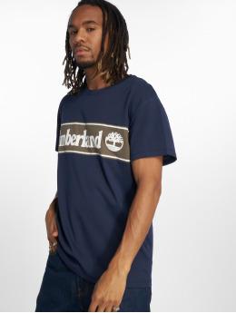 Timberland T-Shirty YCC Cut Sew niebieski