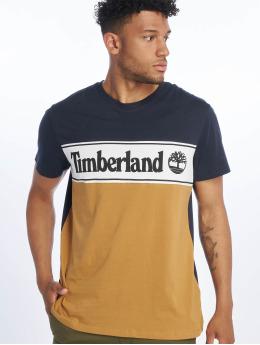 Timberland T-Shirty YCC Cut & Sew niebieski
