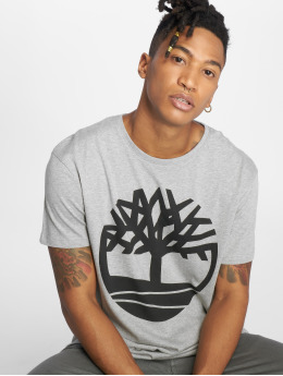 Timberland T-Shirty SLS Seasonal Logo szary