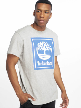 Timberland T-Shirty YCC Stack Logo ECL szary