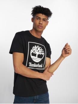 Timberland T-skjorter SLS Seasonal Logo svart