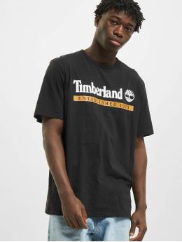 Timberland T-skjorter Estab 1973 svart
