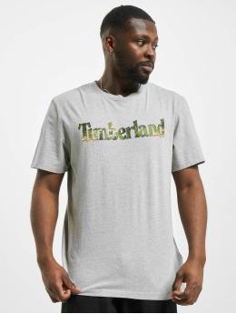 Timberland Tričká Ft Linear šedá