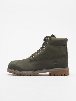 Timberland Vapaa-ajan kengät 6 In Premium Waterproof harmaa