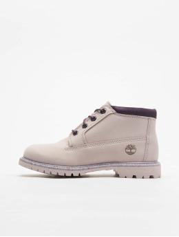 Timberland Vapaa-ajan kengät Nellie Chukka Double WP purpuranpunainen