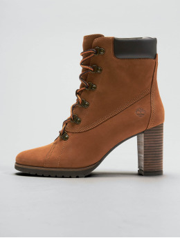 Timberland Vysoké boty / polovysoké boty Leslie Anne Lace Up hnědý