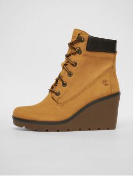 Timberland Vysoké boty / polovysoké boty Paris Height Chelsea hnědý