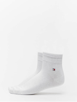Tommy Hilfiger Dobotex Calcetines Quarter 2-Pack blanco