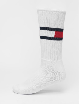 Tommy Hilfiger Dobotex Calcetines Flag 1-Pack  blanco