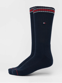 Tommy Hilfiger Dobotex Chaussettes Iconic Sports 2-Pack bleu