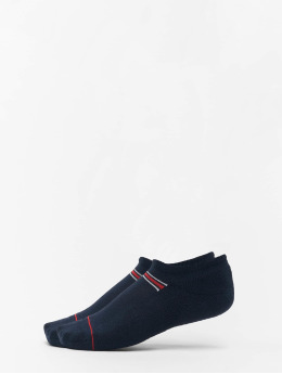 Tommy Hilfiger Dobotex Chaussettes Iconic Sport 2P bleu