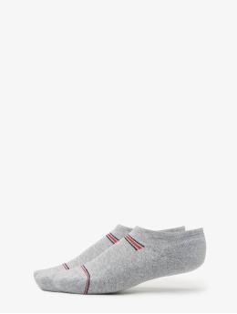 Tommy Hilfiger Dobotex Ponožky Iconic Sport 2P šedá