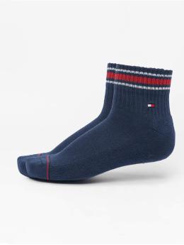 Tommy Hilfiger Dobotex Ponožky Iconic Sports 2-Pack modrý