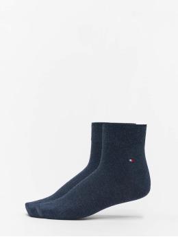 Tommy Hilfiger Dobotex Socken 2P Quarter blau
