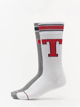 Tommy Hilfiger Dobotex Socken Patch 2P grau
