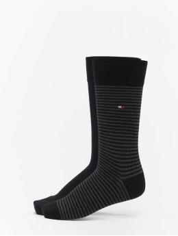 Tommy Hilfiger Dobotex Socks 2 Pack Small Stripe black
