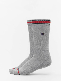 Tommy Hilfiger Dobotex Sokken Iconic Sports 2P grijs