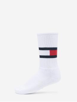 Tommy Hilfiger Dobotex Sokken Flag 1-Pack  wit