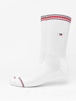 Tommy Hilfiger Dobotex Sukat Iconic Sports 2-Pack valkoinen