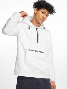Tommy Jeans Демисезонная куртка Nylon Shell Solid Popover белый