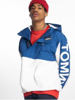 Tommy Jeans Демисезонная куртка Graphic Popover синий
