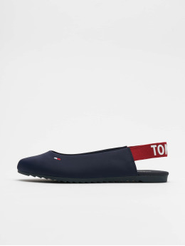 Tommy Jeans Ballerines Sporty Sling Back bleu