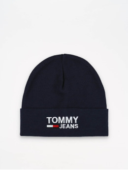 Tommy Jeans Beanie Logo  blå